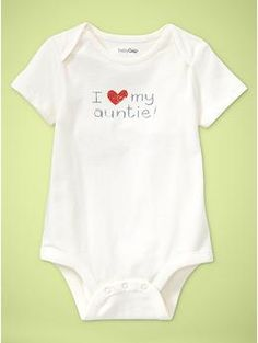I should probably go ahead and stock up on these just because I'm going to be that aunt.