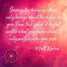 Spiritual teachers and intuitive healers Matt Kahn and Julie Dittmar offer sacred heart wisdom to awaken the joy of liberated existence in the lives of all. Best Inspirational Quotes, Motivational Quotes, Matt Kahn, Spiritual Teachers, Carl Sagan, Daily Bread, Awakening, Favorite Quotes, Me Quotes