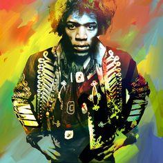Jimi Hendrix :) <3