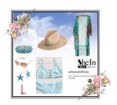 """#SheIn #summer"" by blagunash on Polyvore featuring Hat Attack, Palm Beach Jewelry, Bourjois, Oakley and Bridge Jewelry"