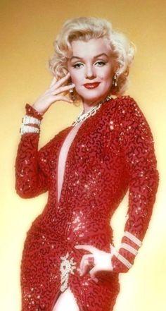 """Marilyn Monroe, """"Gentlemen Prefer Blondes"""""""