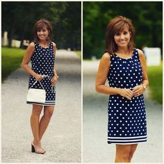 Oh my I love this polka dot dress from glamourfarmsboutique!hellip