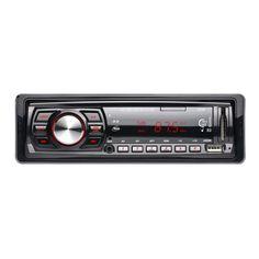 Auto Radio Stereo Audio Lettore MP3 12 V In-dash Singolo 1 Din FM Ricevitore Ricevitore Aux USB SD con Telecomando