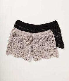 Crochet DA Anjinha: Shorts in Croche