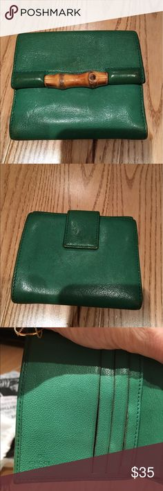 Gucci wallet Authentic Gucci wallet. Well used, stains on leather which is why it's priced so low Gucci Bags Wallets