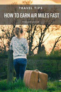 How to Earn Air Miles As Fast As Possible | The Belle Voyage.   How I earned enough miles in two months to fly to South Africa in business class for free! Travel tips, frequent flyer, points travel, airline points, female travel, frequent traveler