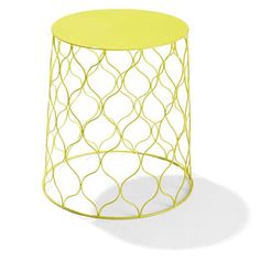 Terracotta garden stool triangle pattern kmart outdoors wire side table yellow kmart paint for a funky plant stand keyboard keysfo Choice Image
