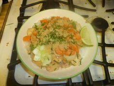 ... Kitchen's recipe for Cold Rice Noodles With Peanut-Lime Chicken
