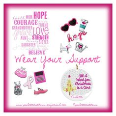 """Wear Your Support!"" by paulette-matthews on Polyvore"