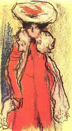 Pablo Picasso, 1900 Parisienne