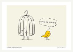 You are too possessive art print by ilovedoodle on Etsy