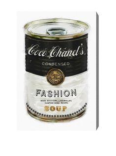 """Oliver Gal """"Fashion Soup"""" Canvas Art, http://www.myhabit.com/redirect/ref=qd_sw_dp_pi_li?url=http%3A%2F%2Fwww.myhabit.com%2Fdp%2FB00OQ6T168%3F"""
