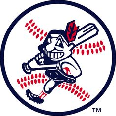 Cleveland Indians Alternate Logo on Chris Creamer's Sports Logos Page - SportsLogos. A virtual museum of sports logos, uniforms and historical items. Cleveland Browns Logo, Cleveland Baseball, Cleveland Indians Baseball, Cleveland Rocks, Cleveland Ohio, 5 Logo, Baseball Shirts, Baseball Teams, Baseball Art