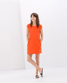 Image 1 of DRESS WITH JEWEL BUTTONS from Zara