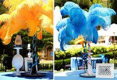 Cirque du Soleil centerpiece ideas