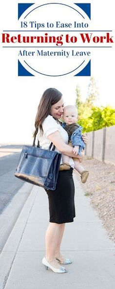 Friday We're In Love: Tips For Making Returning to Work After Maternity Leave Easier