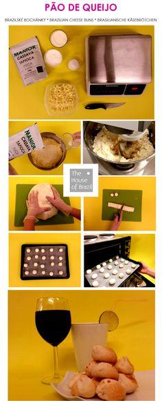 """Brazilské bochánky jednoduše """"studeným"""" receptem... Brazilian cheesebuns, simple cold based recipe..."""