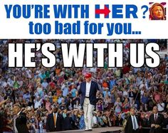 "DEBRA GIFFORD (@lovemyyorkie14) | Twitter........ ""He's With Us."" #VoteTrump2016"