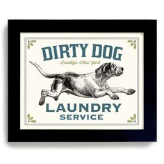 Laundry room decor dog art dog wash art sign wall art print mudroom blue laundry room decor wash dry fold sign dirty dog lover gift bathroom wall art mud room hound dog kitchen art hunting dog rustic decor solutioingenieria Choice Image