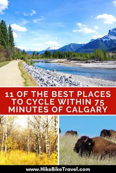 11 of the Best Places to Cycle Within 75 Minutes of Calgary - Hike Bike Travel Calgary, Alberta Travel, Visit Canada, Canada 150, Bicycle Maintenance, Bike Trails, Hiking Trails, Canada Travel, Mountain Biking