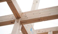 Simple, fast ,and strong timber frame construction