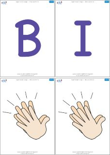 "Flashcards for the Super Simple Learning song ""BINGO (Learn It)."" #preK #Kindergarten #ESL"