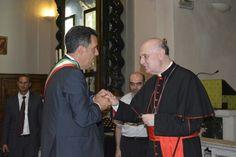 Marini saluta il Cardinale