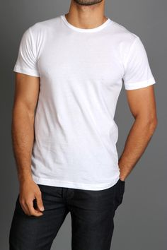 Can't beat a simple white tee