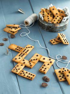 Sablés domino Chocolat cocci