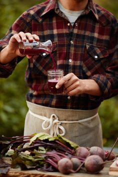 Recipe: Beet Kvass KINFOLK. Super easy vegan recipe that doesn't involve whey. Drink it, dilute it, mix in to juice for a kick or for an essential part of borsch.