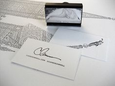 cameron moll; best business cards