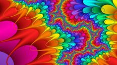 Colorful Trippy Background 48763