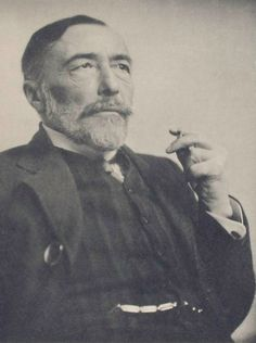 """Do you remember reading """"Heart of Darkness""""? On this day 157 years ago, author Joseph Conrad was born."""