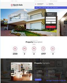 10 Best Single Property WordPress Theme 2016  http://www.frip.in/single-property-wordpress-theme/