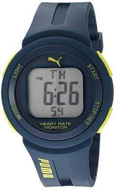 93336724e86 Amazon.com  PUMA Quartz Plastic and Polyurethane Watch