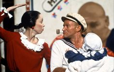 1980s vintage robin williams shelley duvall popeye