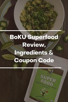BoKU Superfood Review, Ingredients & Coupon Code - Superfoodliving.com Broccoli Juice, Spinach Juice, Boku Superfood, Green Superfood, Superfood Powder, Organic Superfoods, Plant Based Nutrition, Super Greens, Organic Recipes