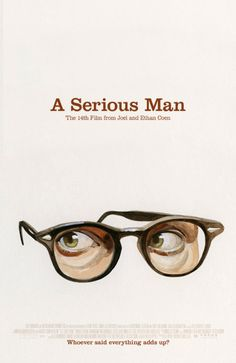 "MP452. ""A Serious Man"" Alternative Movie Poster by Akiko Stehrenberger (Joel & Ethan Coen 2009) / #Movieposter"