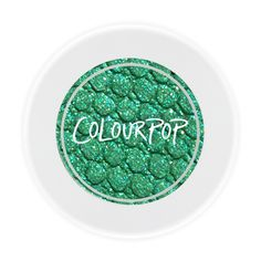 Colourpop Cusp Green Eye Shadow. Get the best of both worlds in this ultra-glitter bright green with blue and gold glitter.  $5.00