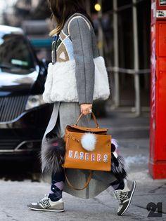 Naseebs keeping it interesting in NYC. #NasibaAdilova