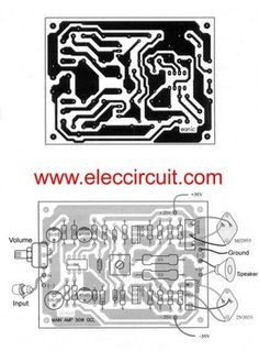 Giga bass for bass boost circuit pcb audio schematic pinterest 50w ocl main amplifier using lf351 2n3055 mj2955 pcb ccuart Images