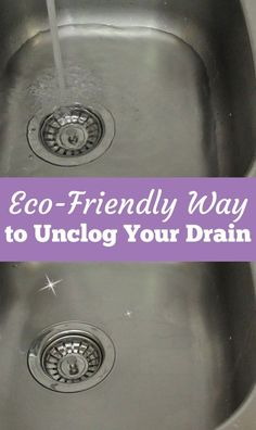 Say goodbye to clogged drains -- in just 2 minutes!