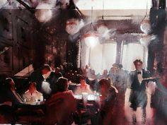 Alvaro Castagnet, 1954 ~ Impressionist Watercolor painter | Part. 2 | Tutt'Art@ | Pittura • Scultura • Poesia • Musica