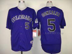 http://www.xjersey.com/rockies-5-gonzalez-purple-cool-base-jerseys.html Only$34.00 ROCKIES 5 GONZALEZ PURPLE COOL BASE JERSEYS Free Shipping!