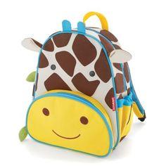 Skip Hop Zoo Packs little kid backpacks - Giraffe for Alix, Dog for Max $20 each