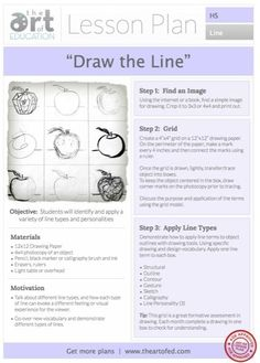 Drawing the Line: Free HS Lesson Plan Download: