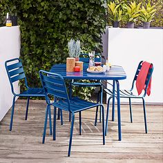 Fabulous Buy House by John Lewis Jive Seater Outdoor Dining Table Online at johnlewis