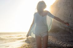 Sweaters on the beach on the Free People blog now!