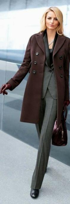 Suited Classic Fashion | LBV ♥✤ | KeepSmiling | BeStayElegant