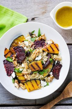 A healthy recipe for any time of the year. This quinoa pilaf can be served as a side dish to grilled meats and seafood, or served as the main course.